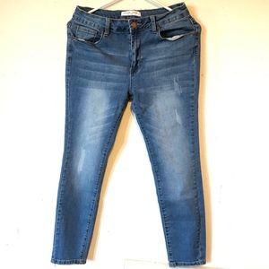 Encore Jeans Ankle Skinny Jeans Pants Size 9 EUC